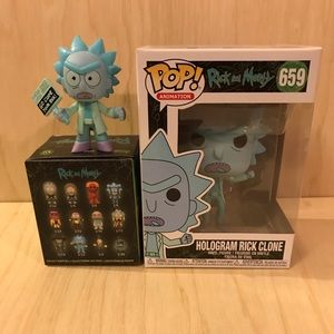 Rick and morty pop/mystery mini set